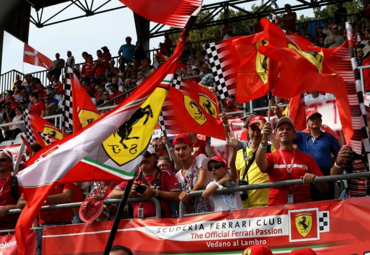 Monza ticket sales boosted by Ferrari success