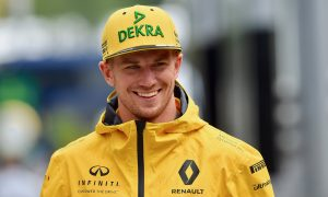 Hulkenberg unaffected by F1 'halo' censorship