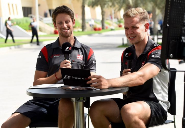 Romain Grosjean- Kevin Magnussen