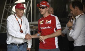 Vettel and Mercedes: 'We discussed it with him,' says Lauda