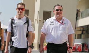 Brown sees future F1 world champion in Vandoorne