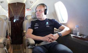Video: Valtteri Bottas travels in style with Netjets