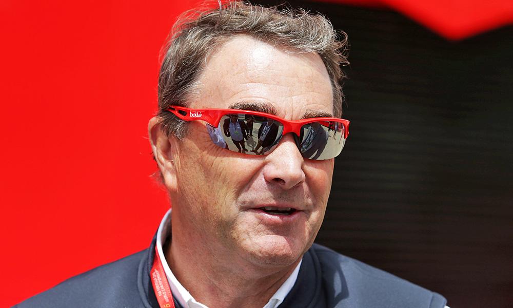Nigel Mansell, Race Steward, 2016 British Grand Prix