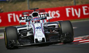 Williams pit crew locks out fastest stops in Hungary