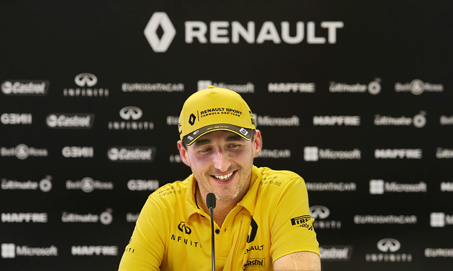 Robert Kubica, Renault, after Hungary in-season test - August 2