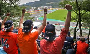 Verstappen delights fans at Spa with 'perfect qualifying'