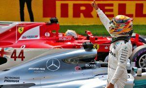 Record-setting Hamilton dominates Spa qualifying