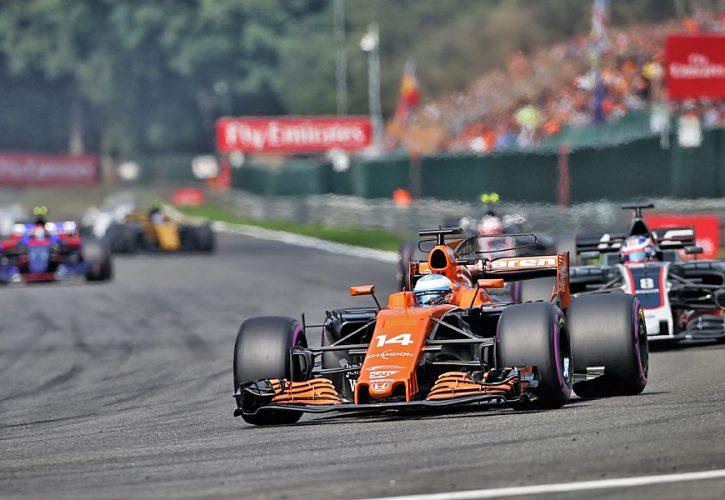 Fernando Alonso, McLaren, Belgian Grand Prix