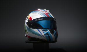 Felipe Massa's helmet gets a special design for Spa