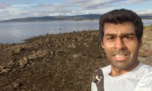 Scotland's a loch for Chandhok