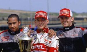 'The two fastest drivers I ever raced against'