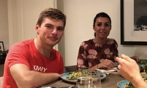 Max Verstappen relishes Mama's cooking