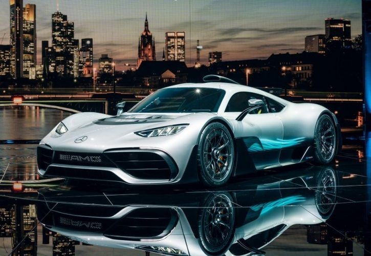 Mercedes-AMG Project One Is An Outrageous $2.53 Million Hybrid Hypercar
