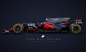 A stunning livery for Red Bull's 2018 charger!