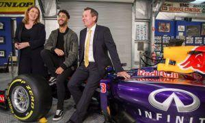 Ricciardo's winning RB10 heads to the museum
