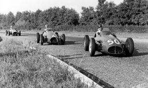 Juan Manuel Fangio spoils the tifosi's party