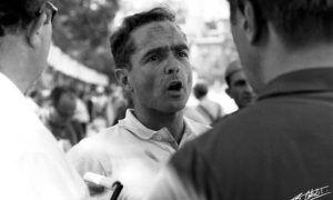 A grief-stricken Ferrari world champion