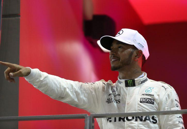 Hamilton reveals of drawing inspiration from Senna post Singapore GP win
