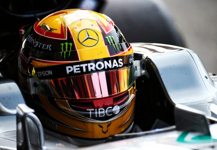 Hamilton takes pole for record 69th time