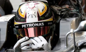 Hamilton calls upon the spirit of Senna to keep his focus