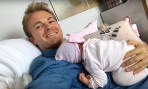 Nico Rosberg welcomes Naila into the family!