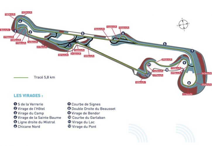 circuit paul ricard confirms 2018 french gp layout. Black Bedroom Furniture Sets. Home Design Ideas