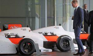 McLaren gives Prince William the royal tour
