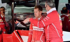 Vettel gets precautionary engine change for qualifying
