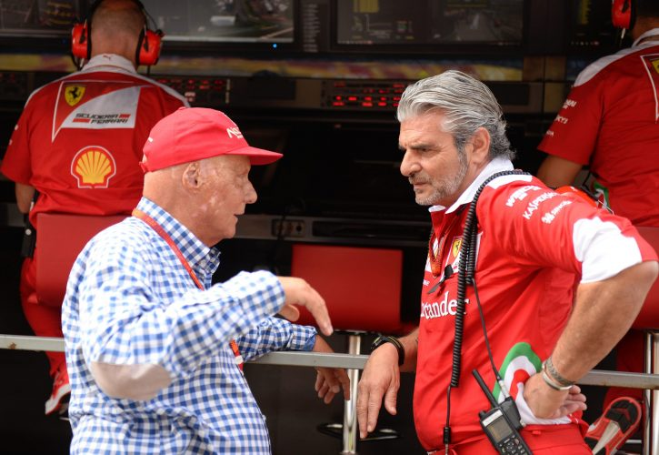 Lauda banking on Ferrari in Singapore