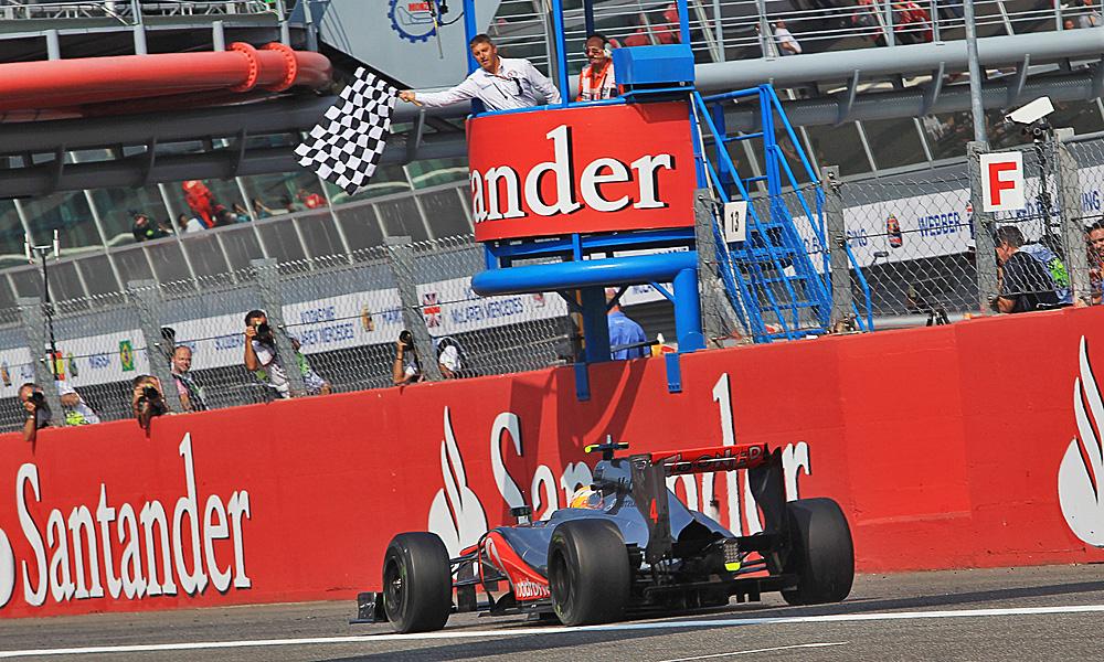 Look back: McLaren's Lewis Hamilton wins the 2012 Italian Grand Prix