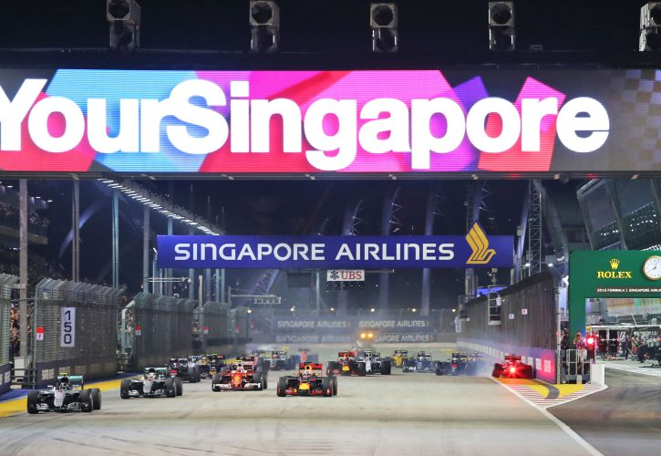 Singapore Grand Prix to remain on F1 calendar until 2021