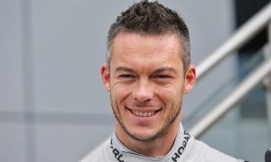 Portrait shot of Andre Lotterer, Porsche LMP1