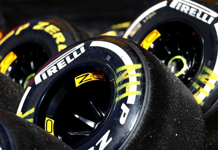 Pirelli soft compound tyre