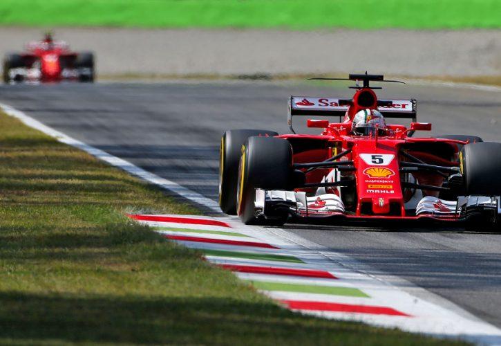 Sebastian Vettel, Ferrari, Italian Grand Prix