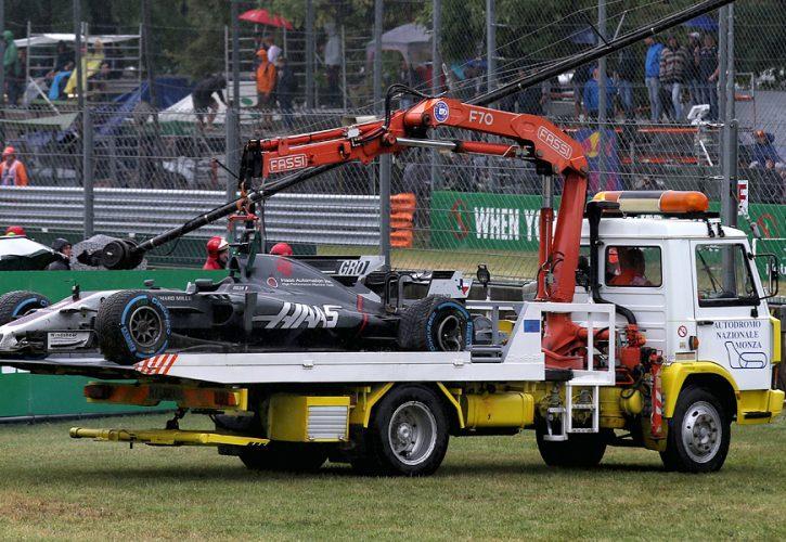 Romain Grosjean, Haas, Italian Grand Prix