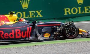 Verstappen race thwarted by Massa clash