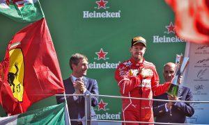 Vettel salvages third at Monza despite damage