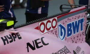 Force India sports radical shark fin in Singapore