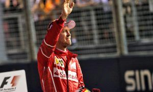 Vettel left stunned by pole-winning pace in Singapore