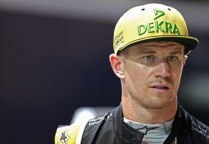 Nico Hulkenberg, Renault, Singapore Grand Prix