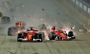 Hamilton wins Singapore Grand Prix after Ferrari disaster