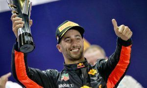 Second-place Ricciardo lucky to even finish