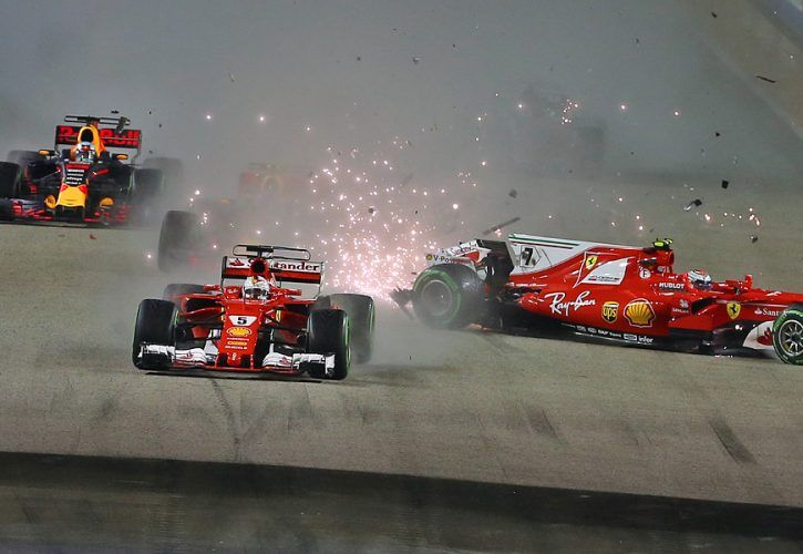 Singapore (Marina Bay) Formula 1 Grand Prix 2017 (Race Results & Highlights)