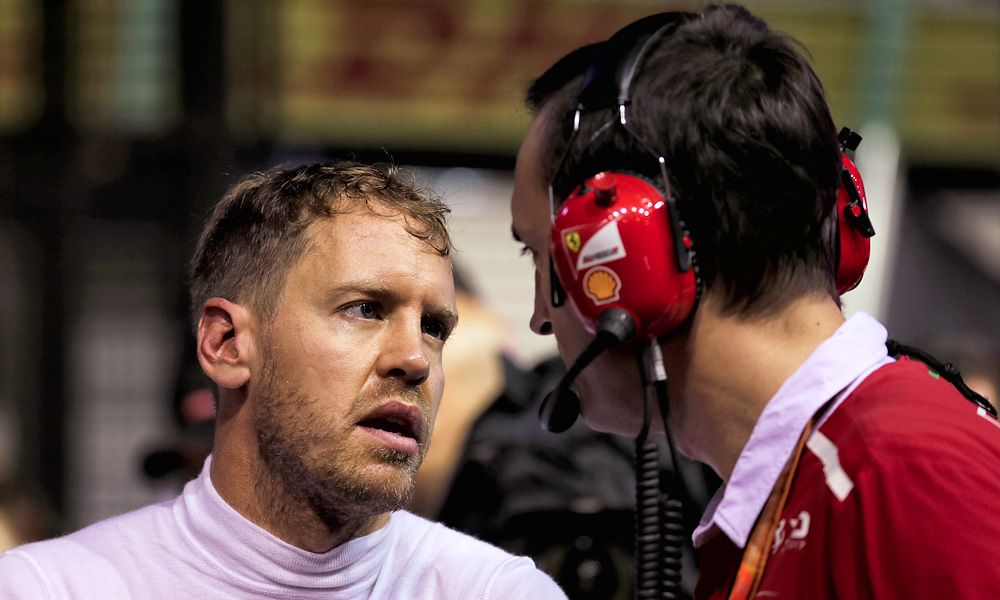 Sebastian Vettel, Ferrari - Singapore Grand Prix