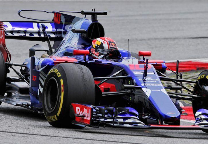 Pierre Gasly, Toro Rosso, Malaysian Grand Prix