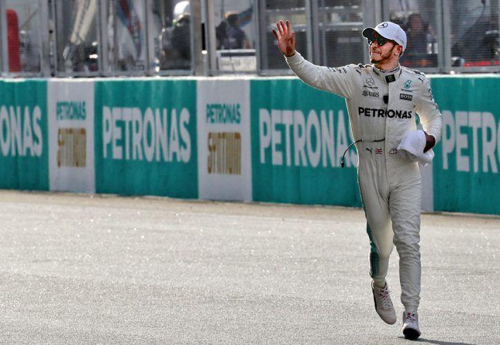 Lewis Hamilton, Mercedes, Malaysian Grand Prix