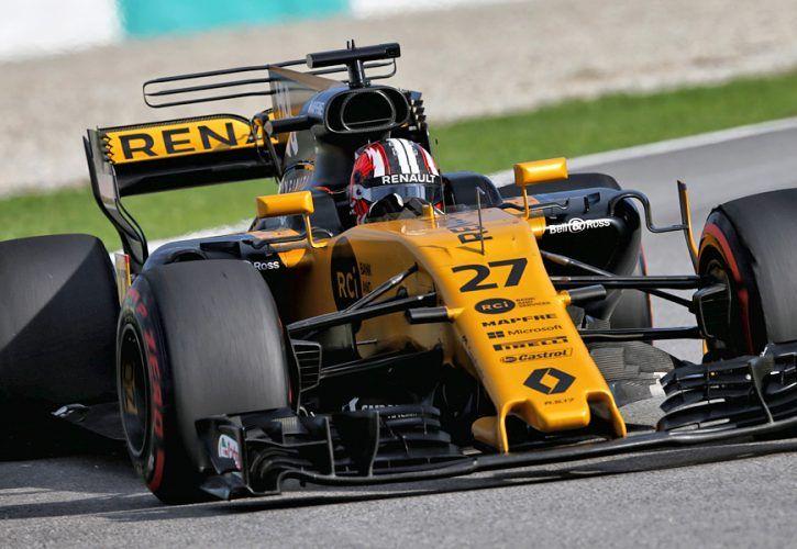 Nico Hulkenberg, Renault, Malaysian Grand Prix