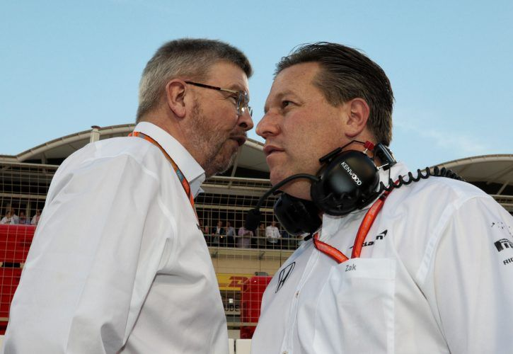 Zak Brown warns Liberty against bowing to Mercedes, Ferrari F1 pressure
