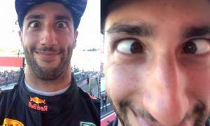 Ricciardo hijacks Hamilton's phone and wreaks havoc!
