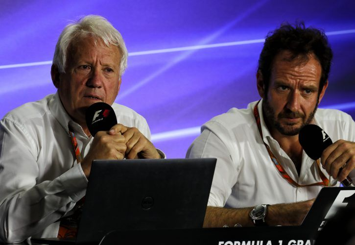 Charlie Whiting Gallery: Inconsistent Stewarding? Charlie Whiting Begs To Differ